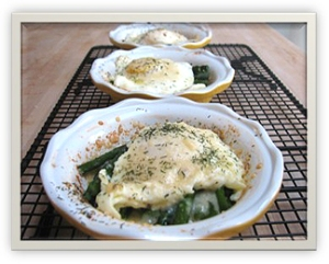 Eggs with Asparagus