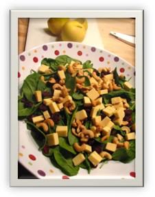 Green Money ala Salad