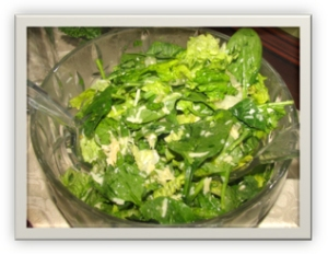 Mixed Green Salad with Fresh Herbs