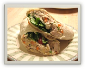 Ultimate Chicken Wraps