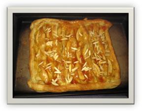 Warm Apple-Almond Pastry