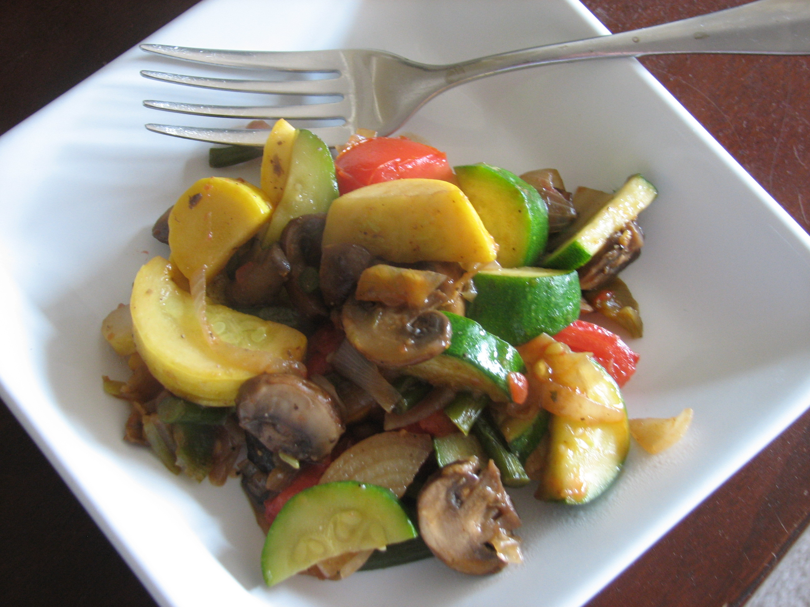 Summer Vegetable Stir-Fry